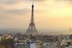 Paris at Sunset from the Arc de Triumph Credit: Getty Images