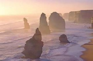 Sunset at the Twelve Apostles, Great Ocean Road