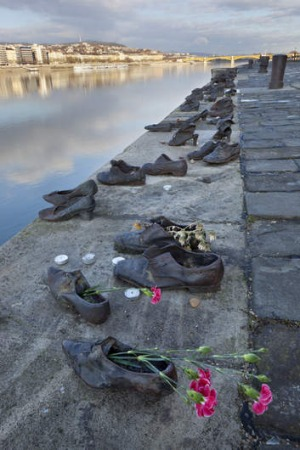 The Shoes on the Danube Memorial.