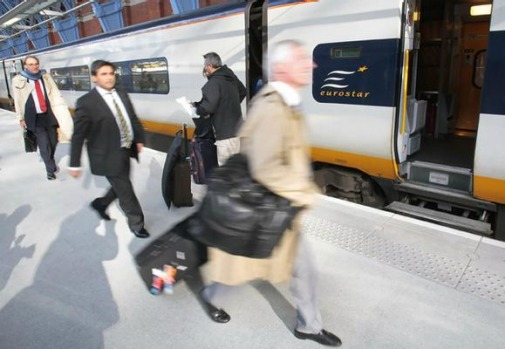 Journey times from London to Paris will now drop to two hours and 15 minutes, while Brussels will take one hour and 51 ...