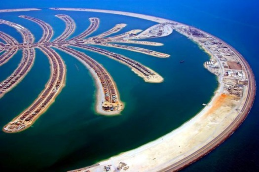 The iconic Palm Jumeirah development has seen thousands of apartments, villas and luxury hotels built on a huge ...
