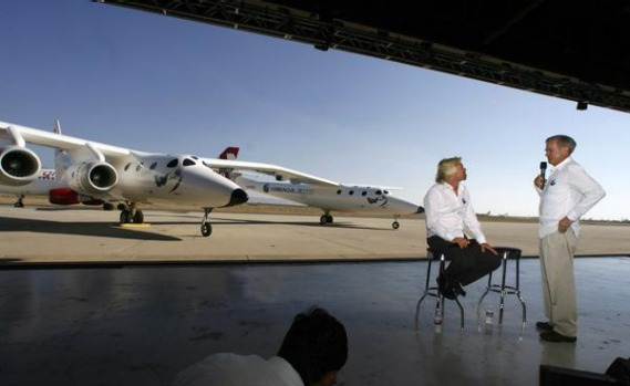 Virgin Galactic is hoping to send its first paying customers into suborbital space about 110 km above the earth in 2010.