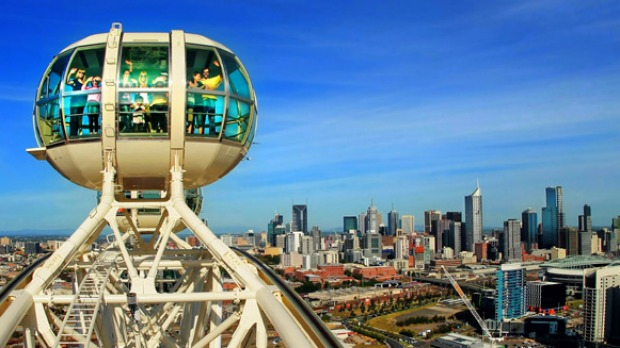 Southern Star Observation Wheel has stopped turning.