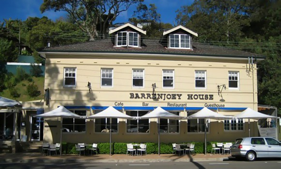 7pm. Enjoy dinner at Barrenjoey House Restaurant at Palm Beach. This area is nestled on a peninsula with lush evergreen ...