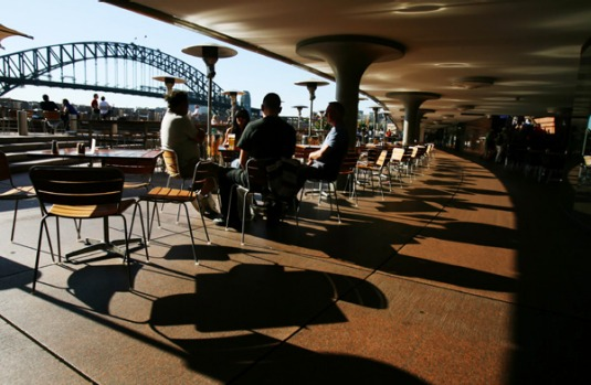 11 pm. Have a night cap at the Opera Bar on the footsteps of the Opera House and soak up the views.