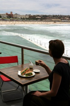 11am - Have a mid-morning coffee or juice at the Crabbe Hole cafe by the poolside at Bondi Icebergs Club. Here you can ...