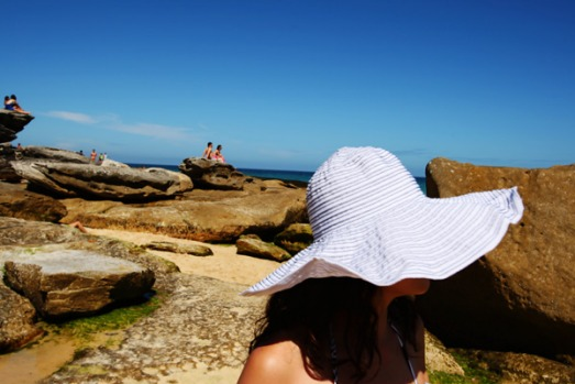 12pm, continued. Keep walking to Bronte beach, hemmed in by a bowl-shaped park and sandstone headlands, through Tamarama ...