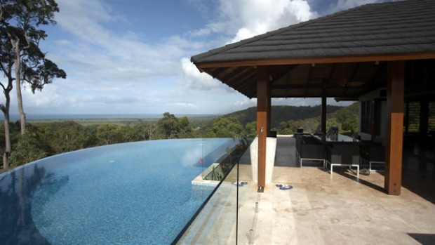 Executive style ... Mali Mali's enticing infinity pool.