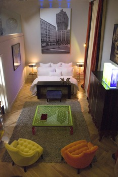 The hotel's interiors are stunning. As the building is a historic monument, each room has been designed to fit into its ...