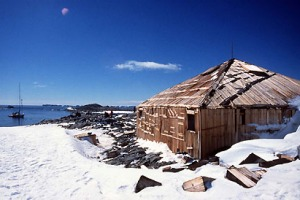 The 97-year-old Mawson's Hut is becoming an increasingly popular tourist destination.