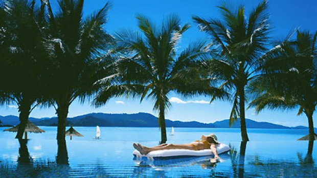 Tough gig ... competition is fierce for Tourism Queensland's Hamilton Island job.