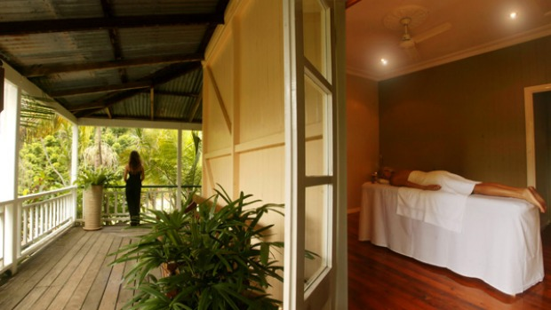 Holistic approach ... Gwinganna offers a scenic, stress-free environment.