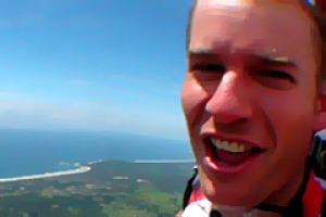 Adrenalin rush ... send your pulse racing with a skydive.