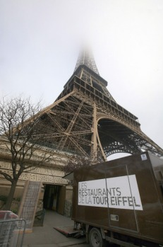 Designed by the tower's architect and namesake, Gustave Eiffel, the visitors' elevators were installed in 1899 - ten ...