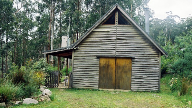 Forest hideaway ... Misty Mountain Cottage among the gum trees.