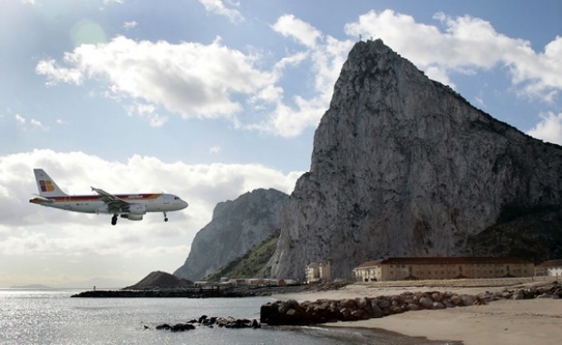 <b>World's scariest airports:</b> Gibraltar Airport. Pinched in by the Mediterranean on its eastern flank and the Bay of ...