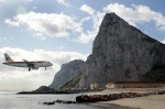 Gibraltar Airport. Pinched in by the Mediterranean on its eastern flank and the Bay of Algeciras on its western side, ...