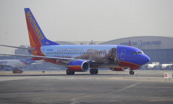 Southwest is currently testing satellite-provided broadband internet on its flights, which would allow passengers to ...