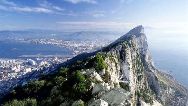 Historic marvel ... the Rock of Gibraltar.