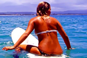 Not a rash decision ... surfing is great exercise for the body and soul.
