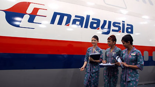 The Flight Stuff Malaysia Airlines Cabin Crew Outside A Full Scale Model
