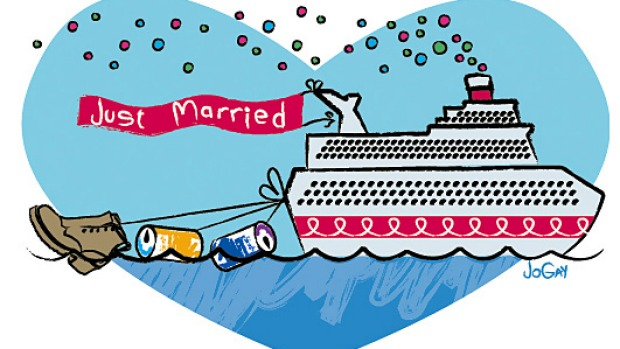 More Couples Marrying On Cruise Ships - Getting married on a cruise ship