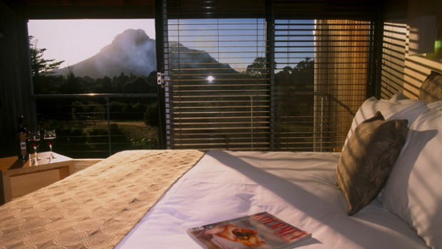 Country oasis ... a mountain view room.