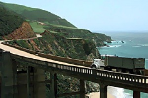 Bixby Bridge in Big Sur, California.