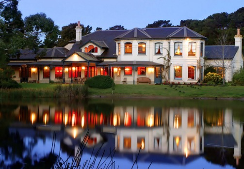 Woodman Estate. Set by an ornamental lake amid formal rose gardens in 20 hectares of pastures and bushland in Moorooduc ...