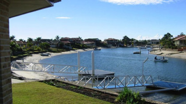 Homes at Yamba, named Australia's best town.