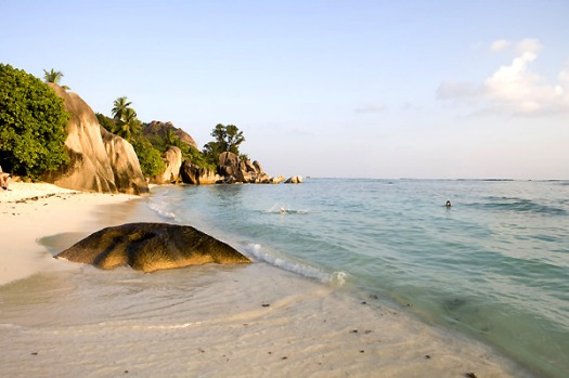 Anse Source d'Argent - La Digue Island, Seychelles. Literally straight out of a Bacardi advertisement, Anse Source ...