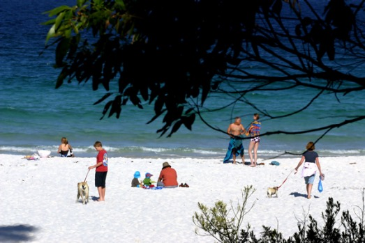 Hyams Beach - Jervis Bay, Australia. The whitest sand in the world is closer than you might think. In fact, it's said to ...