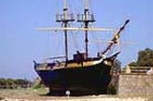 The Brig 'Amity' an accurate replica of the ship which brought the first convicts and settlers to Albany.