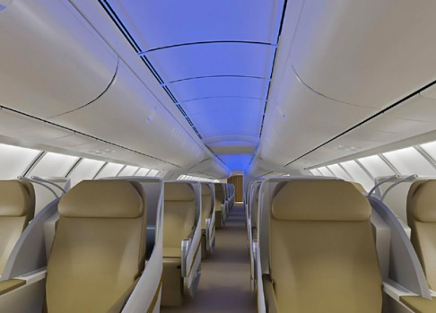 The 747-8 incorporates features from the 787 Dreamliner, including a new curved, upswept architecture designed to give ...