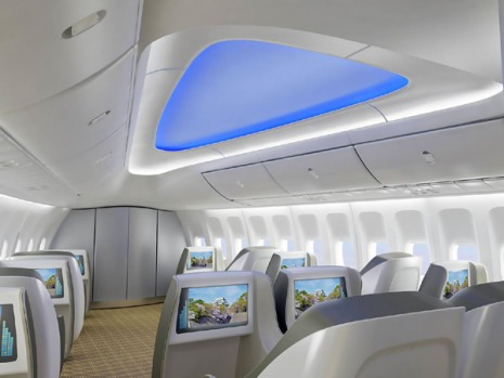 Boeing says the 747-8 Intercontinental will offer airlines the lowest operating costs and best economics of any large ...