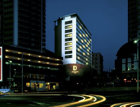 Diamant Boutique Hotel, Sydney - number nine in Australia, number 349 in the world.