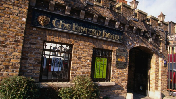 Claimed to be Dublin's oldest pub, The Brazen Head, is allegedly haunted by the ghost of the great Irish patriot Robert ...