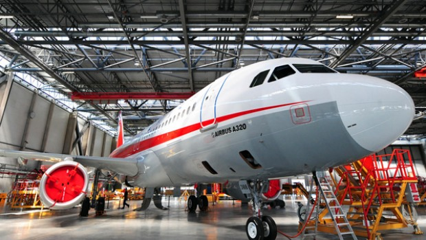 China S First Airbus A320 Completes Maiden Flight