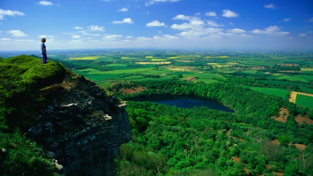Open all hours ... the North York Moors National Park offers stunning views.