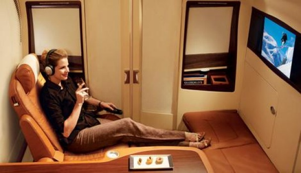 Singapore Airline's private cabin class will replace first class on the A380.