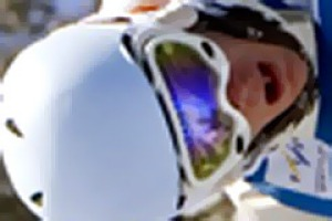 On a high ... Olympic gold medallist Dale Begg-Smith will return to the snow in August following his knee reconstruction.
