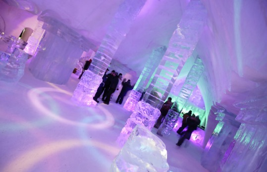 4. Hotel de Glace, Quebec, Canada. Located in the village of Ste (Ste) Catherine de la Jacques Cartier, 35km from Quebec ...