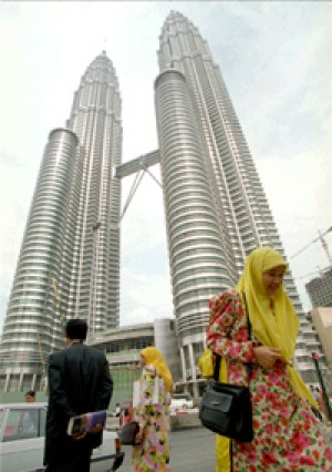 Landmark ... the Petronas Towers.