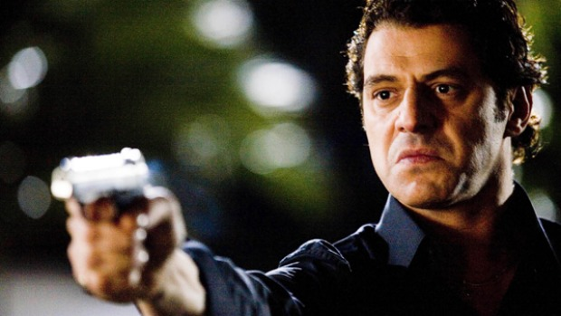 Mean streets ... Vince Colosimo in Underbelly.
