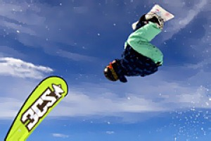 Extreme ... a snowboarder competes in the Dragon Big Air competition at Falls Creek.