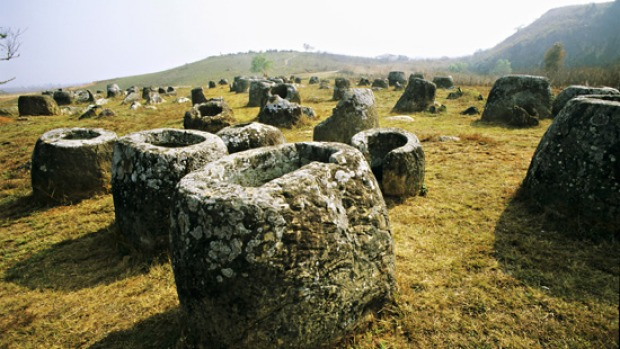 The Plain of Jars in northern Laos is home to a 2000-year-old mystery.