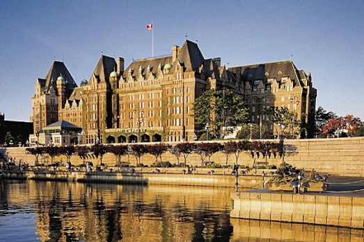 Empress Hotel, Victoria, Canada. Afternoon tea at this century-old grand hotel is high on most Vancouver Island must-do ...