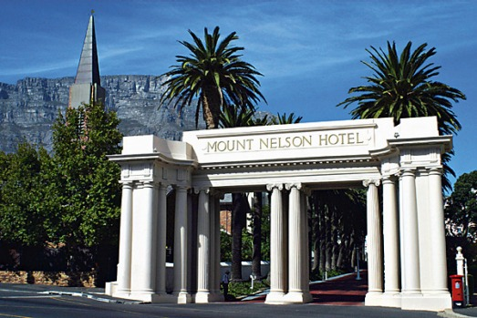 Mount Nelson Hotel, South Africa. Set in splendid gardens at the foot of the imposing Table Mountain, this colonial-era ...