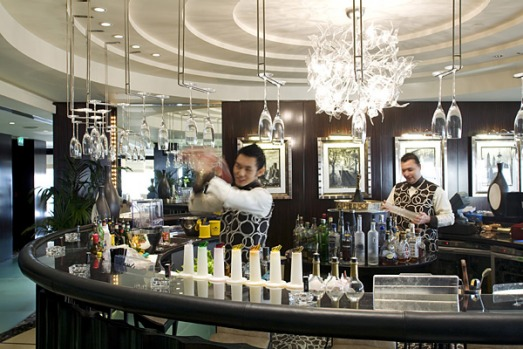 Bar 44. At an elevation of 200 metres, Bar 44 is an even loftier vantage point. Views of Jumeirah's palm-shaped island ...