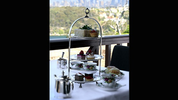 The Tea Room, Gunners' Barracks, Sydney. What catches your breath here is the magnificent view, best enjoyed from the terrace. The $35 repast, served on Royal Albert china, aims for quality rather than quantity and coeliacs will rejoice at the gluten-free option.